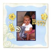 Happy Birthday Scrapbook Page