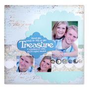 Treasure Scrapbook Page