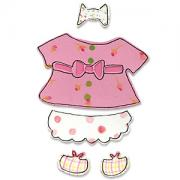 Sizzix Originals Die - Animal Dress Ups Girl Outfit