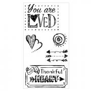 Sizzix Clear Stamps - You Are Loved