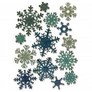 Sizzix Thinlits Die Set 14PK - Paper Snowflakes, Mini by Tim Holtz