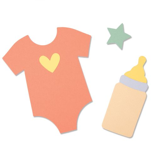 baby grow die cutting