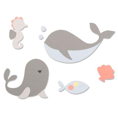 whale die cutting