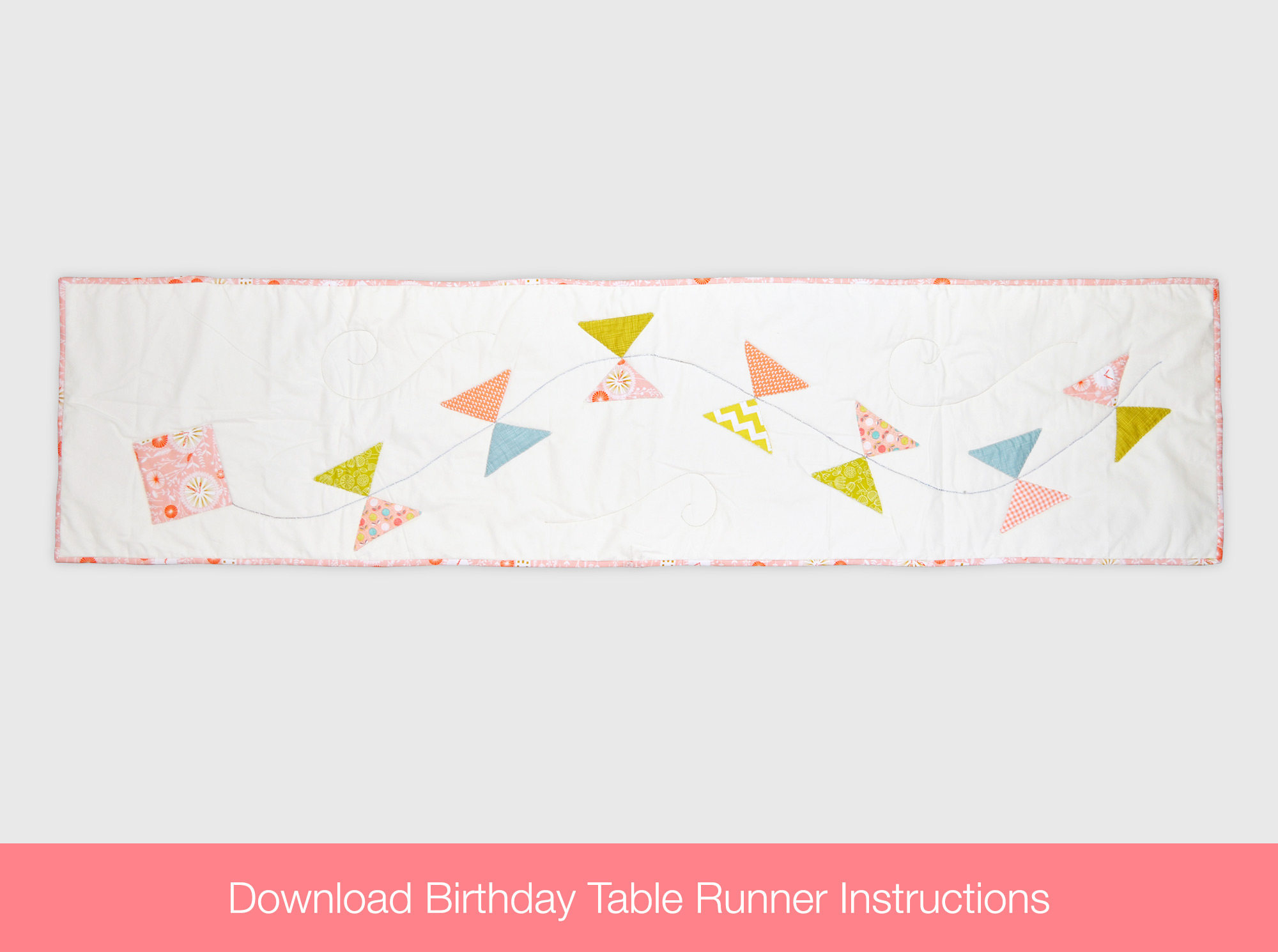Birthday Table Runner