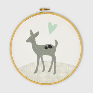 Deer Embroidery Hoop