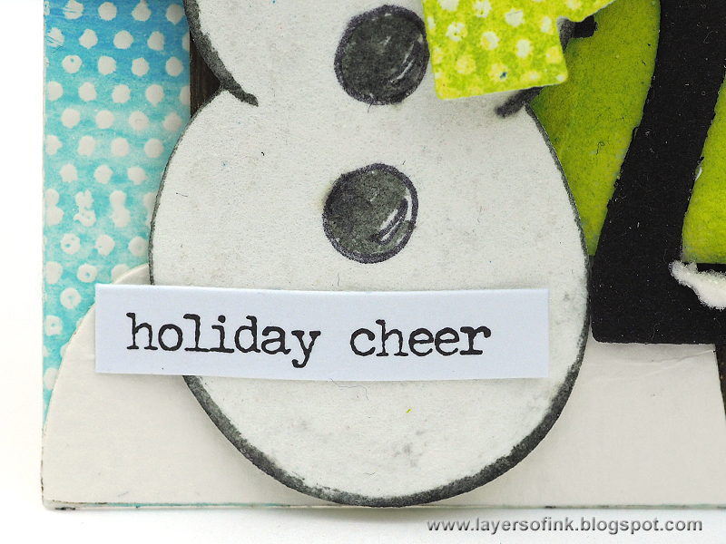 Need More Holiday Card Ideas? Check Out This Cute Snowman DIY