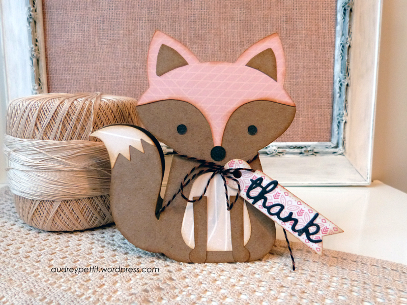 Thank You Cards: A Sweet Foxy Sentiment