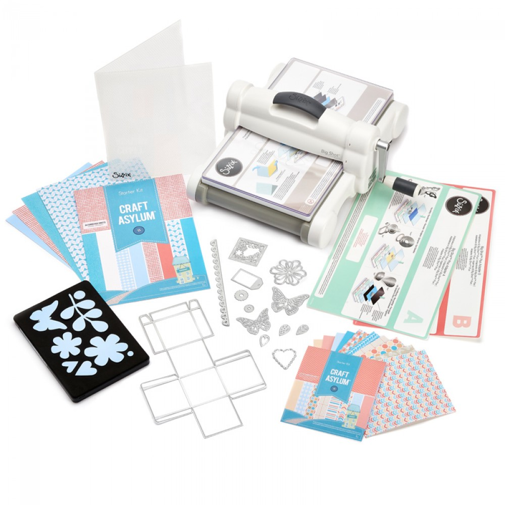 Sizzix Spotlight: Introducing Our Newest Addition The Big Shot Plus Starter Kit