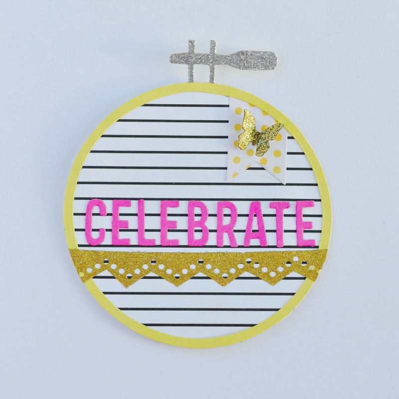 Embroidery Hoop: A Fun and Simple Stitchlits DIY