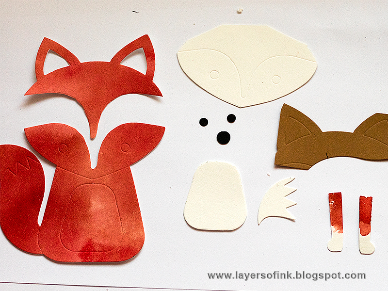Home Décor DIY: Paper Leather Fox Wall Hanger