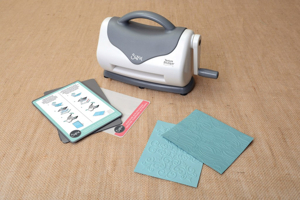 Sizzix Spotlight: Embossing Fun With the Texture Boutique