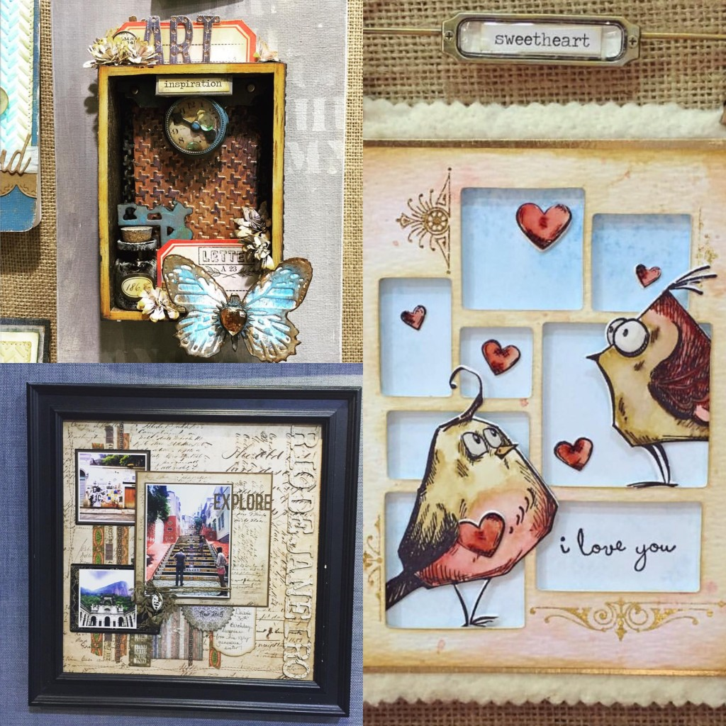 Tim Holtz, CHA Megashow and the Sizzix Booth