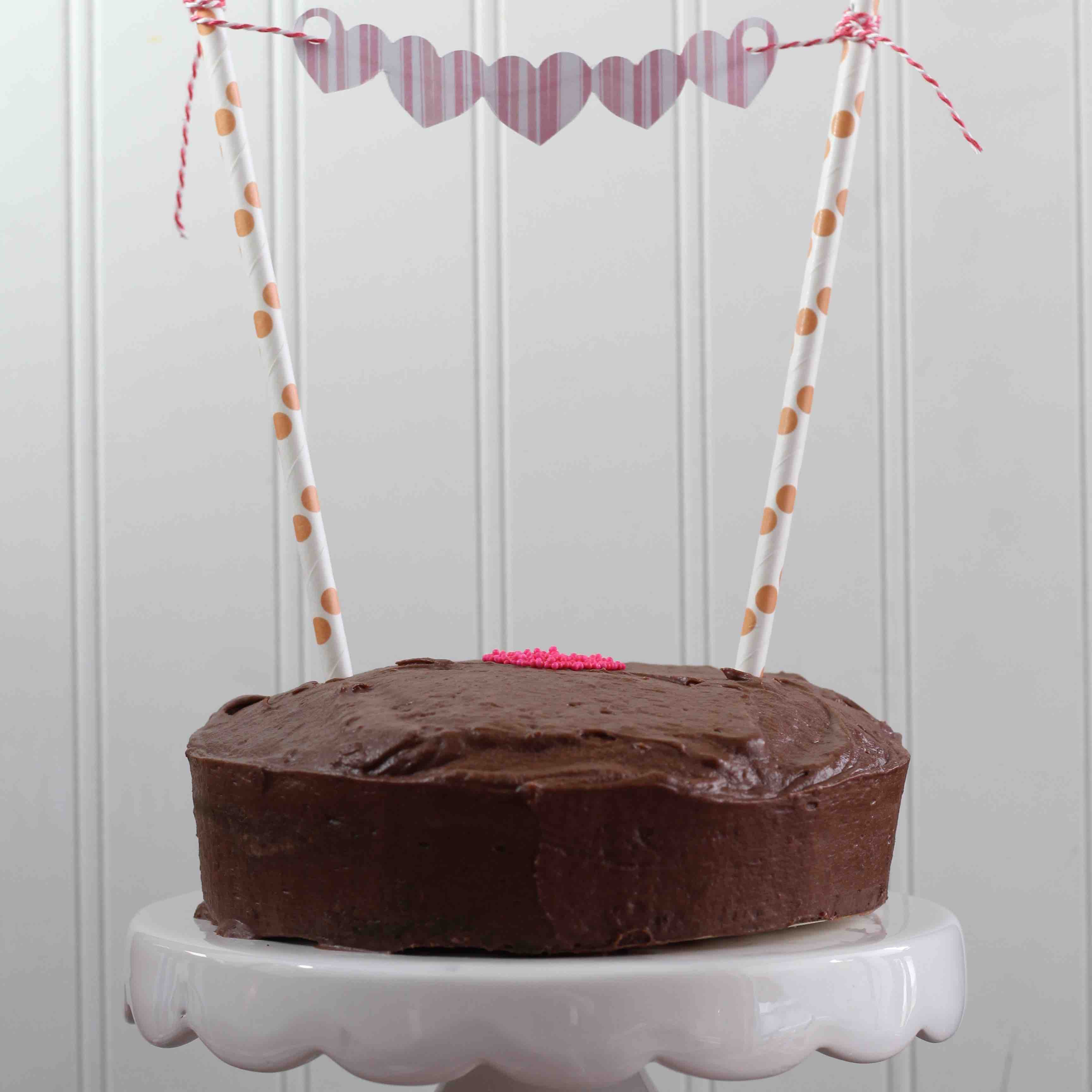 Cake Bunting: A Sweet Valentine's Day Treat