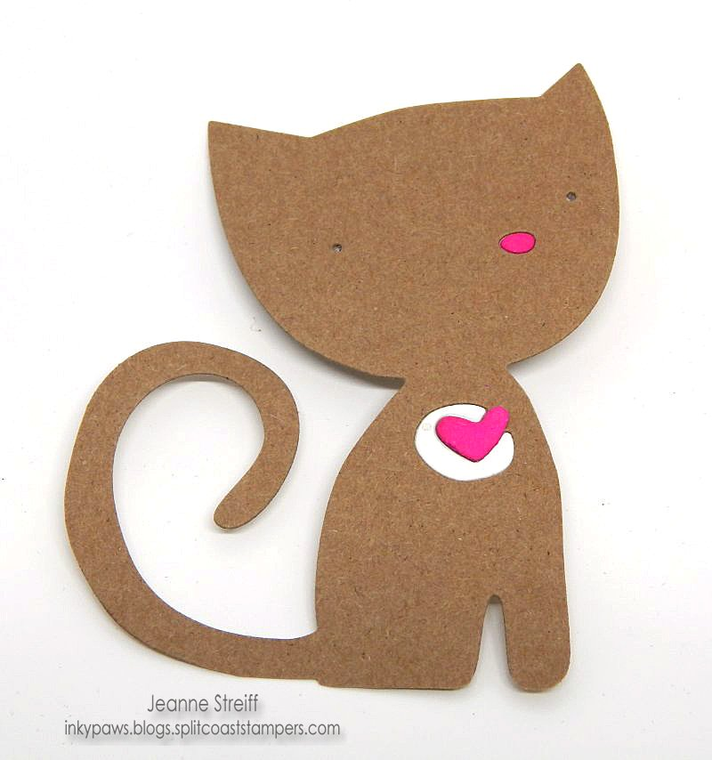 Playful Kitten Card: A Happy & Colorful Make!