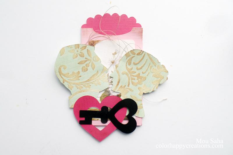 Valentine Gift Card Holder: A Shabby & Chic MIY