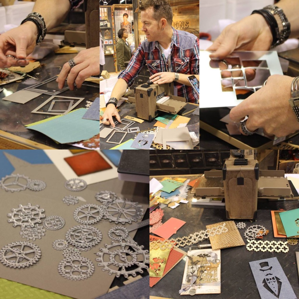 CHAW 16 Spotlight: The Sizzix Booth Days 1 & 2