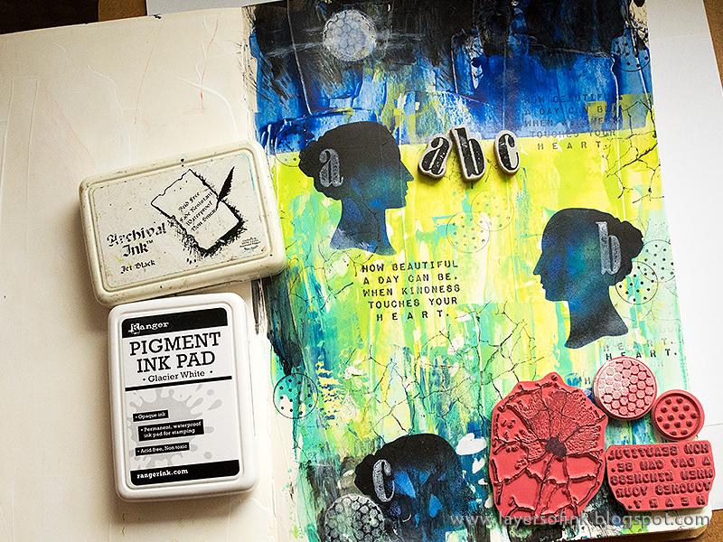 DIY Art Journal: A Vibrant Mixed Media Make