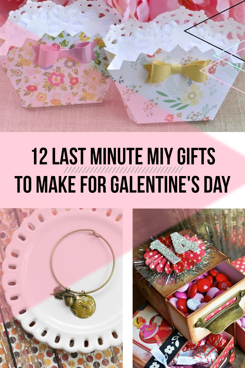 12 Last Minute MIY Gifts To Make For Galentine's Day