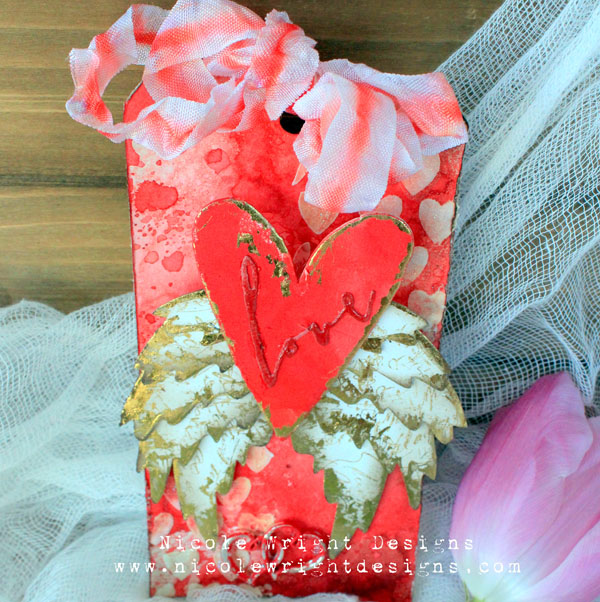 Valentine's Day Tag: Let your Love Soar With This Gorgeous Make!