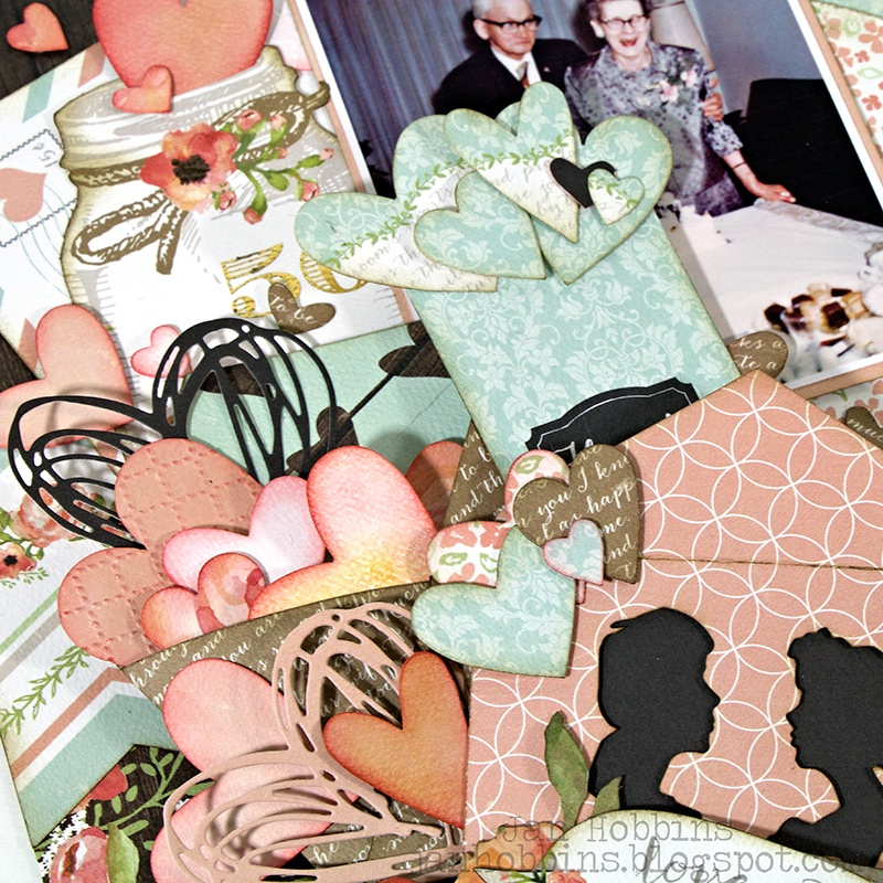 Scrapbook Layout: A Love Story
