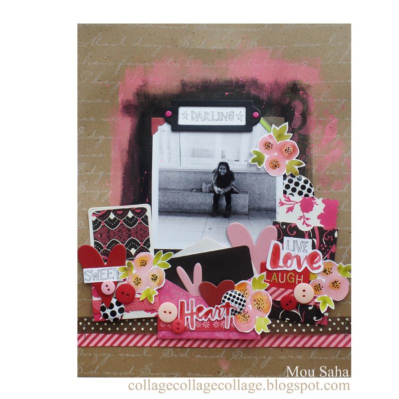 Scrapbook Layout: Showcase Your Sweet Memories