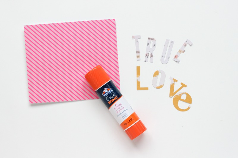 True Love Card: A Sweet & Simple Valentine's Day MIY
