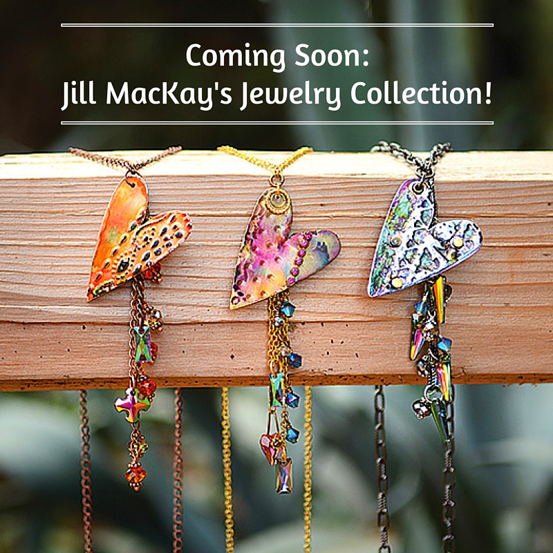 Coming Soon: Jill MacKay's Jewelry Collection!
