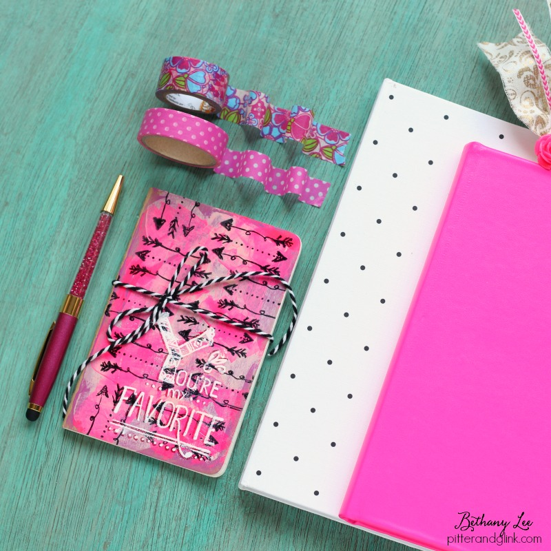 DIY Journal With Clear Stamps: Colorful Fun!