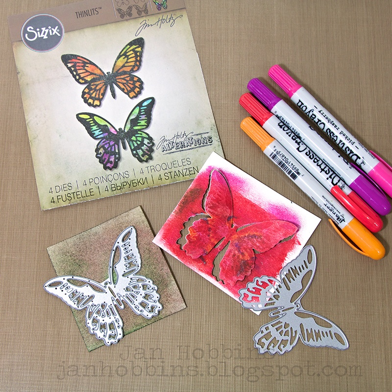 Say Hello With This Detailed Butterfly Card!