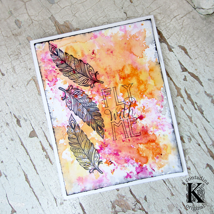 Mixed Media Cardmaking: A DIY From the Heart