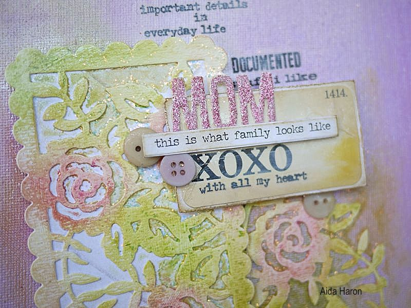 Mother's Day Canvas: A Gorgeous Mixed Media Make
