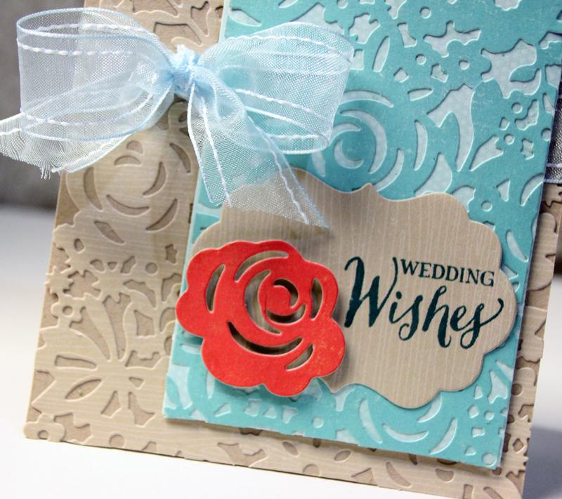 Wedding Wishes: A Gorgeous Card DIY!