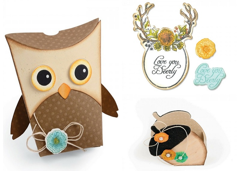 Available Now at Sizzix.com: Jen Long's Fox Tales
