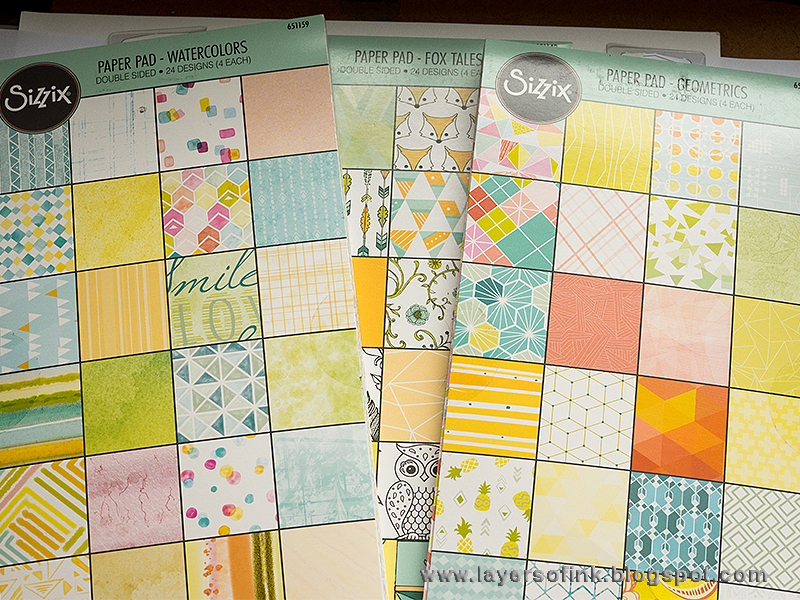 Quick Gift Card Set With Clear Stamps & Paper Pads!