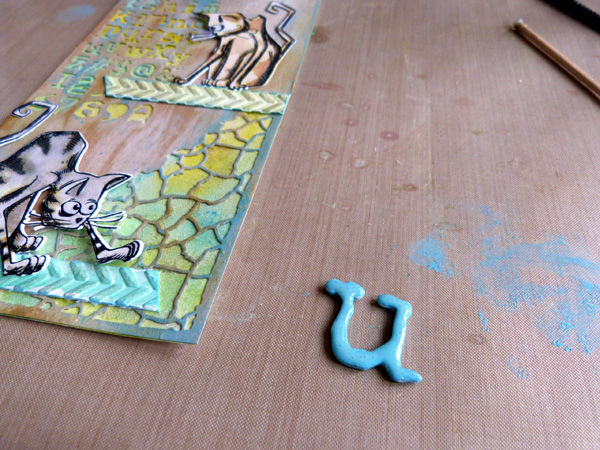 Crazy Cats & Mixed Media: A Fun Gift Tag DIY
