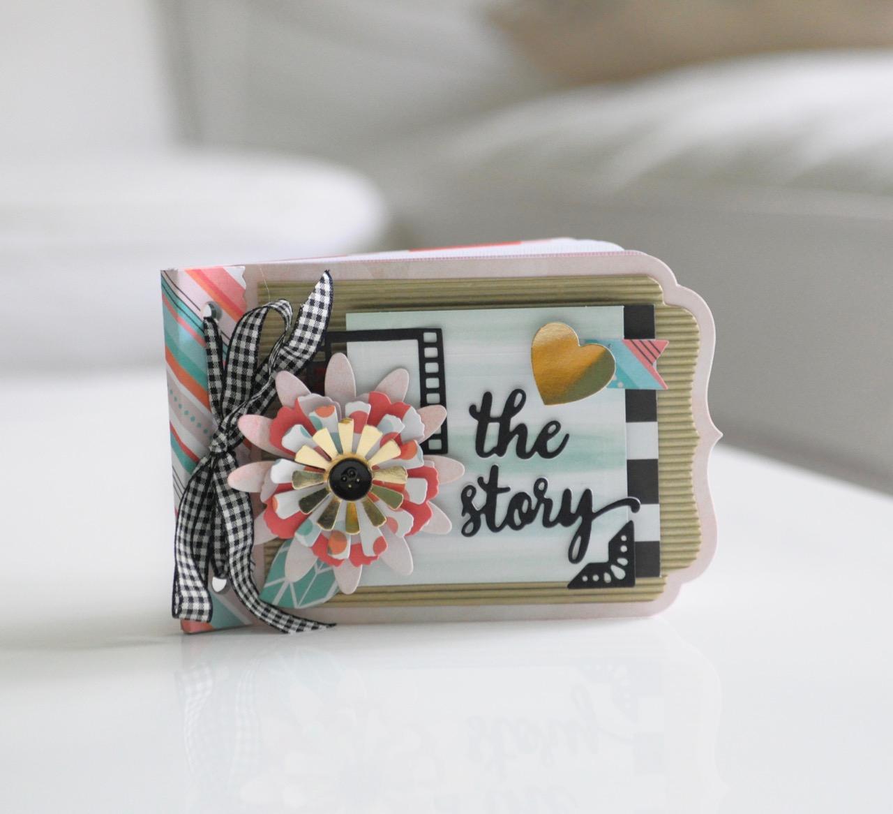 Mini Al Diy Make Your Own Story Sizzix Blog