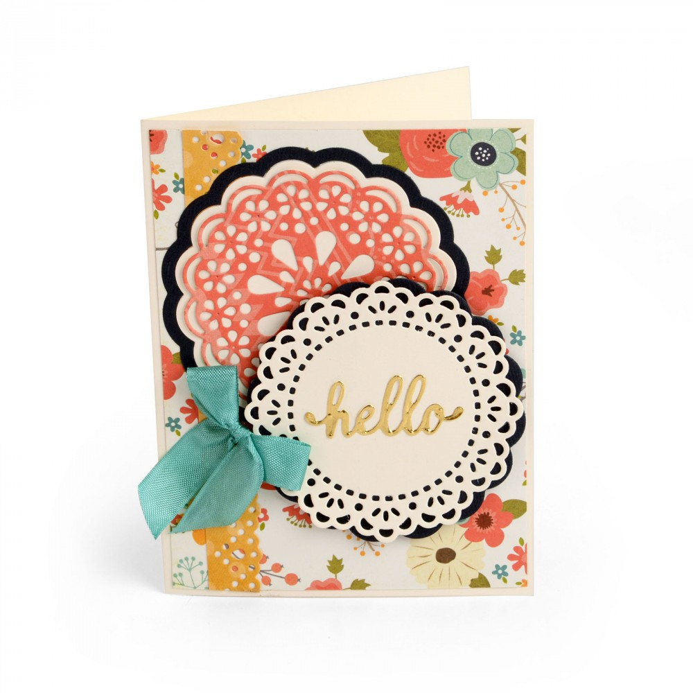 Available Now on Sizzix.com: Lori Whitlock's New Collection