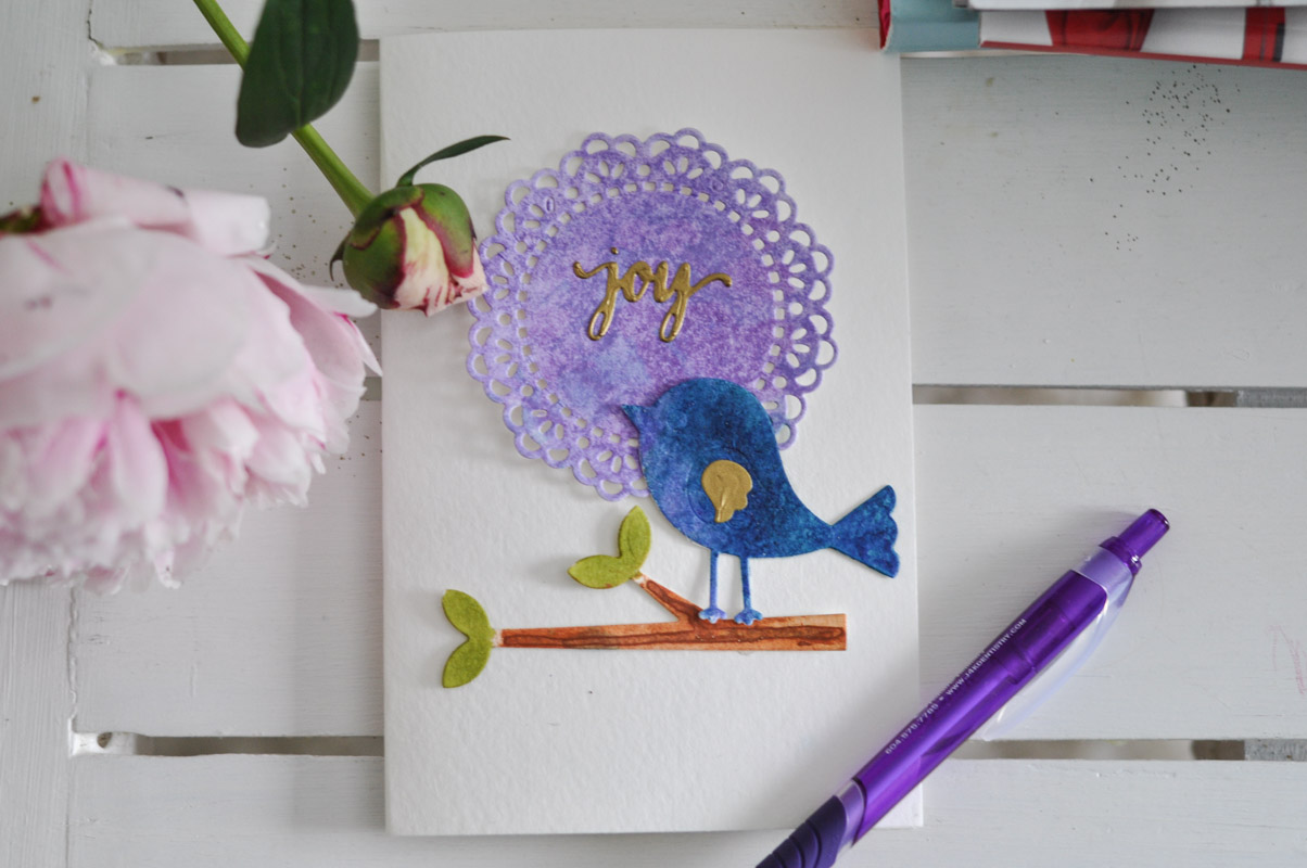 Cardmaking Joy: A Springtime DIY