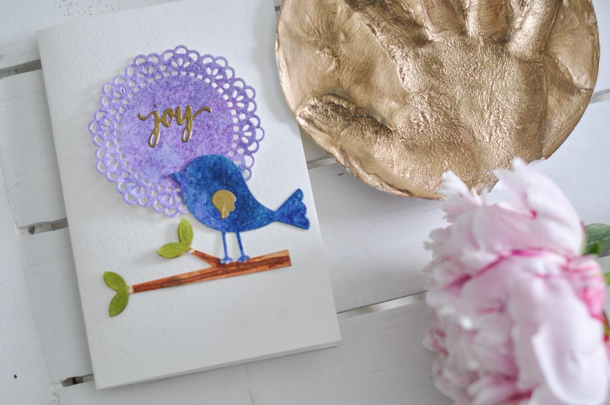 Cardmaking Joy: A Springtime DIY