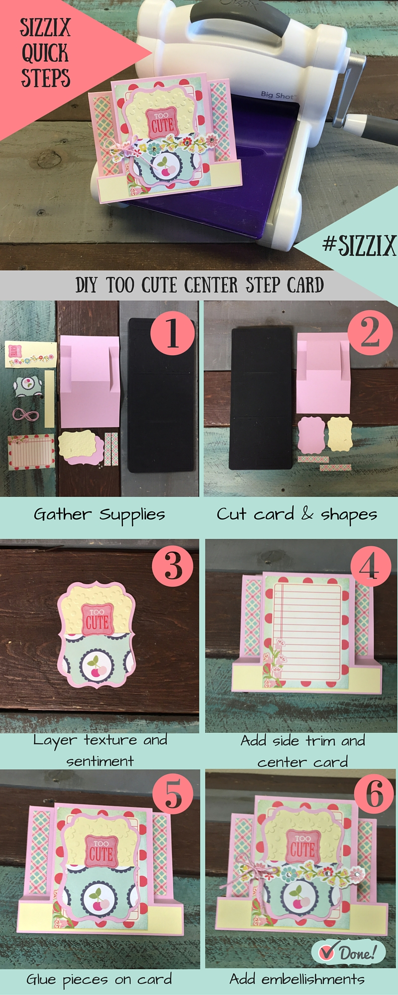 Too Cute Card Step Out