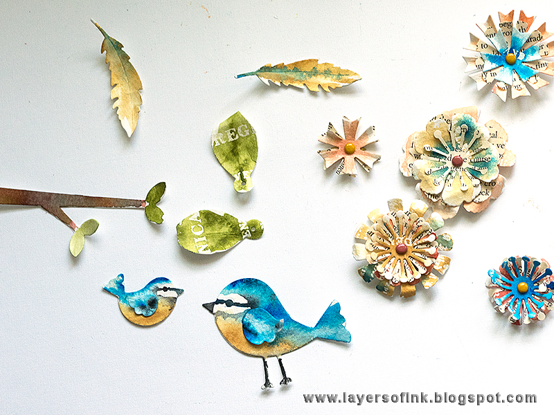 For The Birds: A Wonderful Watercolor DIY
