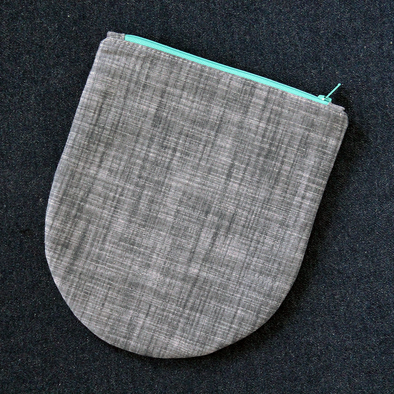 Half Oval Pouch Set by Jessee Maloney for Sizzix