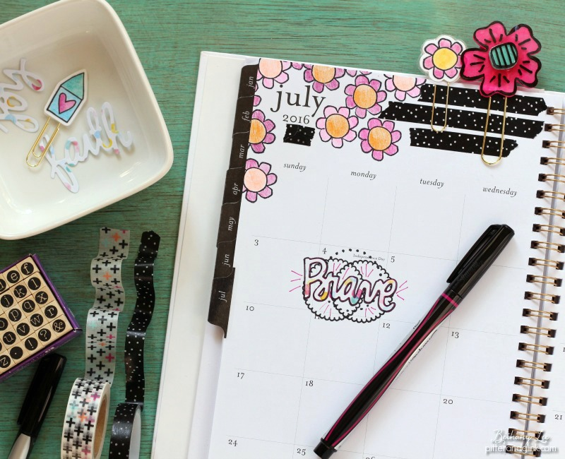 Planner Accessories: A Cute & Colorful DIY
