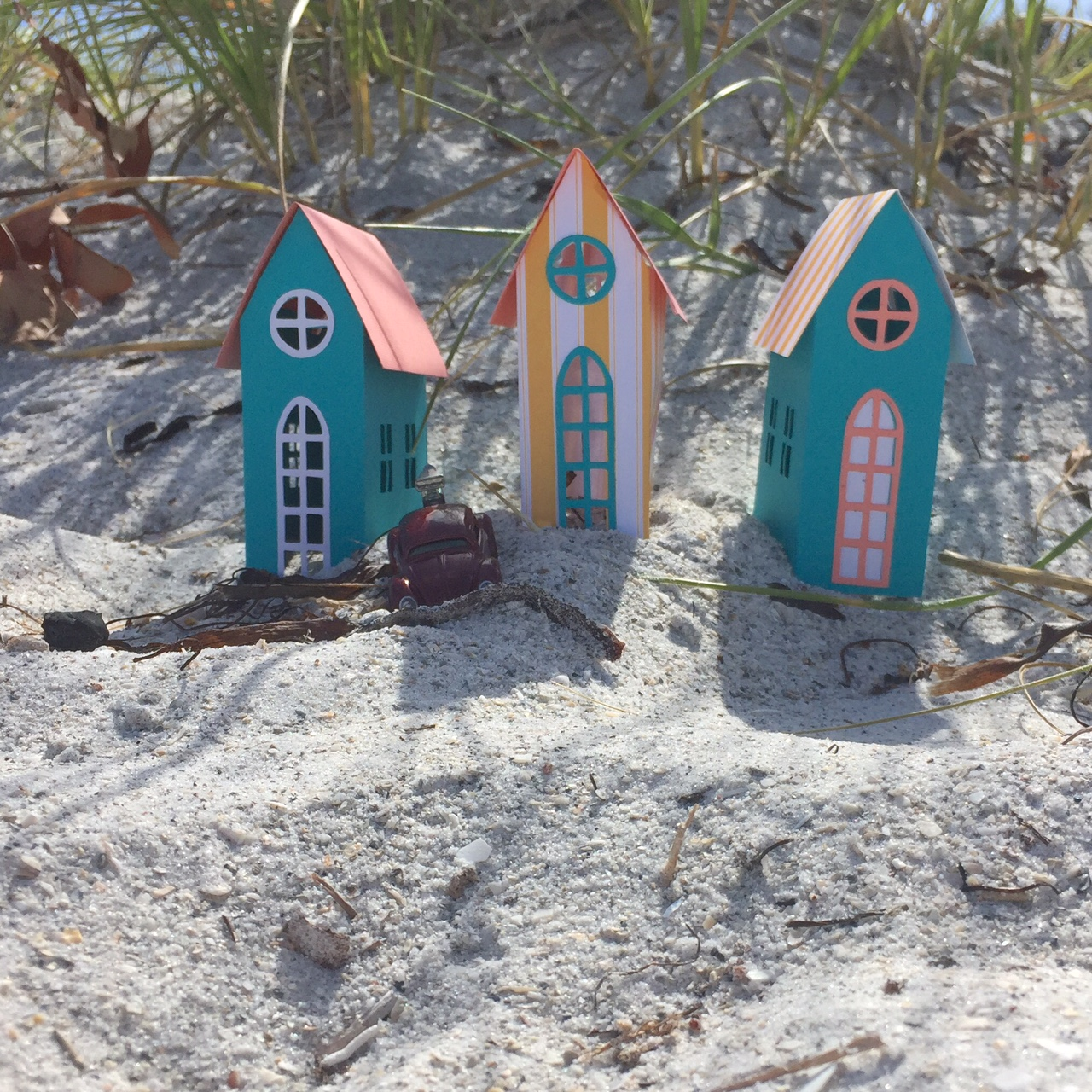 Summer Brownstone Dwellings With Tim Holtz's New Collection!
