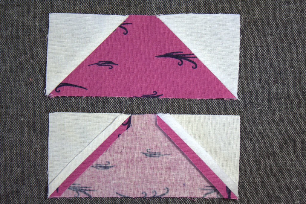 Geese Crossing Mini Quilt