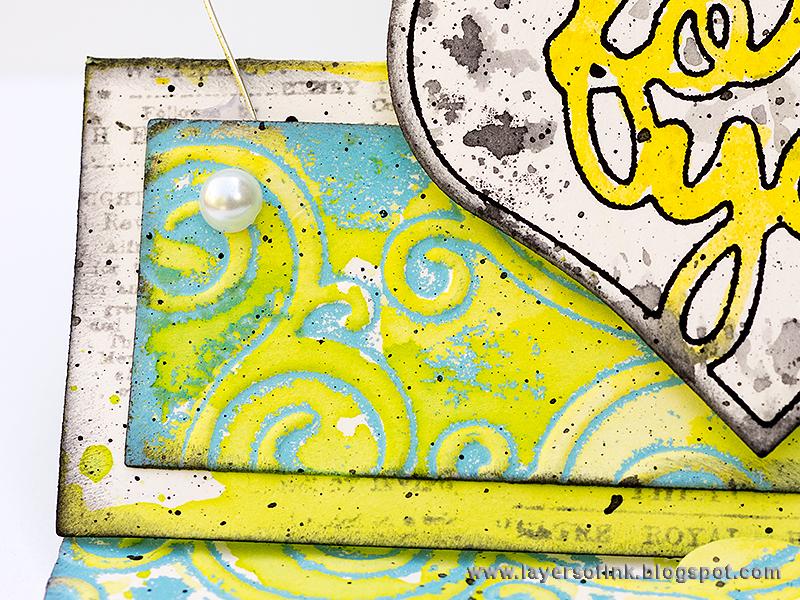 Inksheets Inspiration: Summertime Standups Card