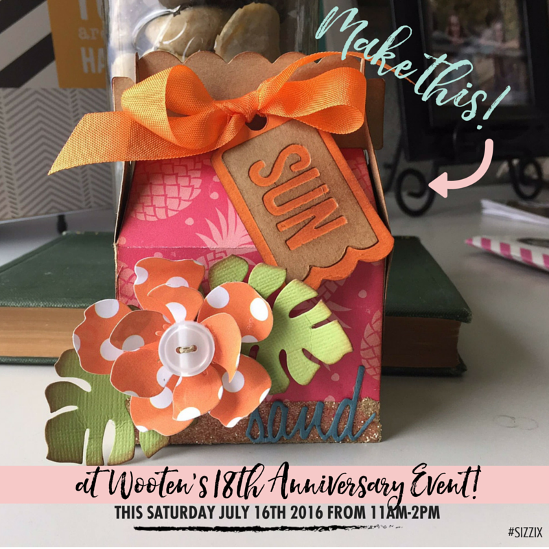 Make Some Waves With Wooten's Scrapbook Co Mermaid Nautical Anniversary Event!
