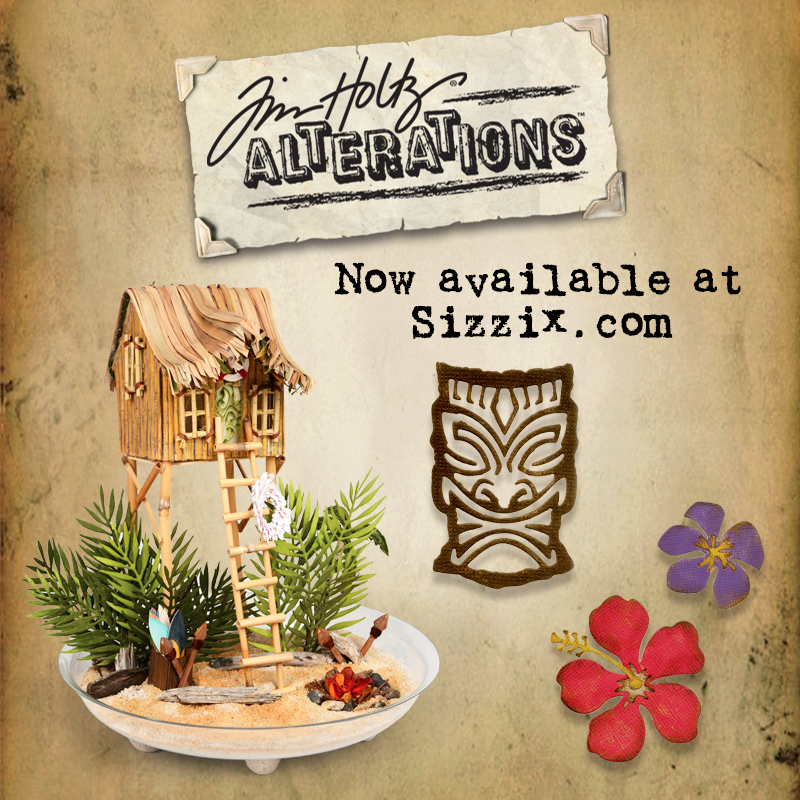 Tim Holtz's Summer Collection Available Now on Sizzix.com!
