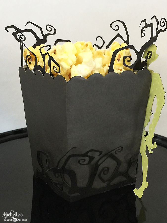 Make These Zombie Popcorn Boxes For Your Upcoming Halloween Party