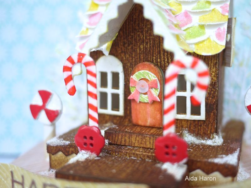 Add Some Sweetness To Your Holiday Makes With This DIY Candy House